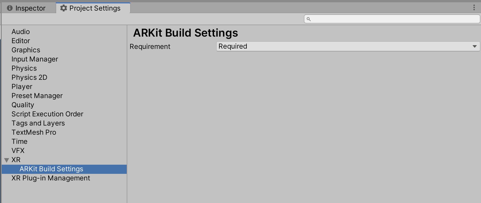 更新 ARFoundation 4.0.2